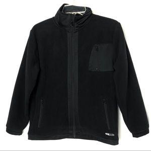 Gap kids Fleece Jacket black Sz 𝐗𝐋 12